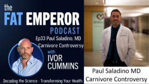 Ep33 Paul Saladino MD is a Carnivore Doctor - What Does His Research Reveal