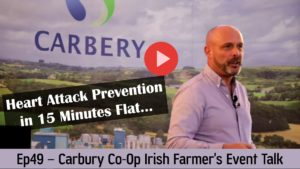 Ep 49 Ivor Cummins at Carbery Farming Event - Tackle Heart Attack Risk with Real Foods.