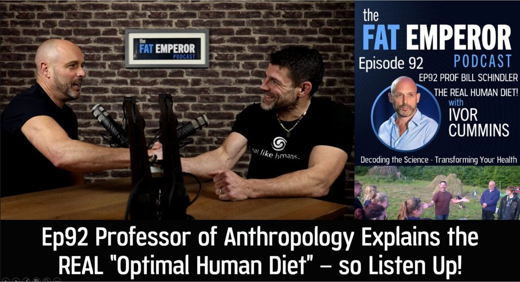Ep92 Professor of Anthropology Reveals the REAL Optimal Human Diet!