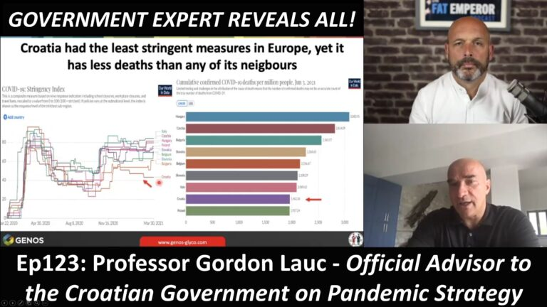 Ep123 Return of Prof Gordon Lauc - Official Advisor to the Croatian Government on Pandemic Strategy